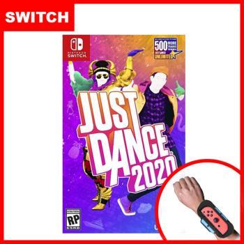 【Nintendo 任天堂】Switch Just Dance 舞力全開 2020 (中文版)+手腕帶