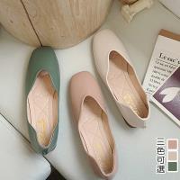【Alice 】 (預購) 氣質OL百搭圓尖平底鞋