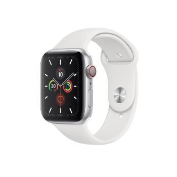 Apple Watch 5 GPS+LTE Sport 44mm 銀鋁/白運動 MWWC2TA/A