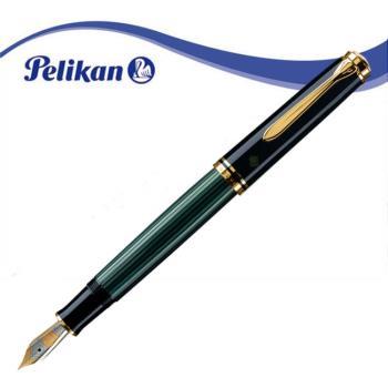 Pelikan 德國百利金 PL-M400 綠條紋鋼筆