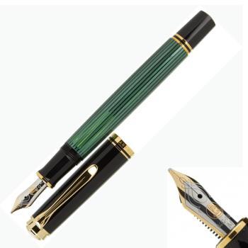 Pelikan 德國百利金 Souverän M400 14k鋼筆 -綠桿