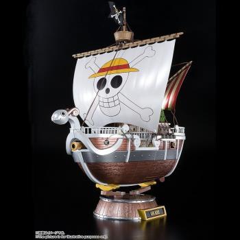 日本BANDAI海賊王動畫20周年限量版超合金前進梅利號ONE PIECE草帽海賊團4573102575524