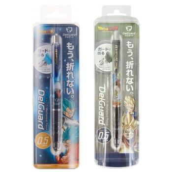 日本製造SHOWA NOTE七龍珠超DelGuard不斷芯自動鉛筆848 2700(0.5mm筆芯)七龍珠超悟空達爾悟天