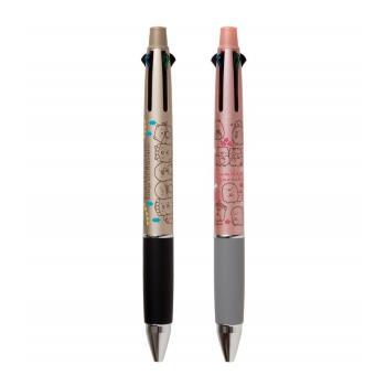 日本製造San-X角落生物UNI JETSTREAM溜溜筆 4+1機能筆PP42系列(4色0.7mm油性原子筆+0.5mm自動鉛筆)