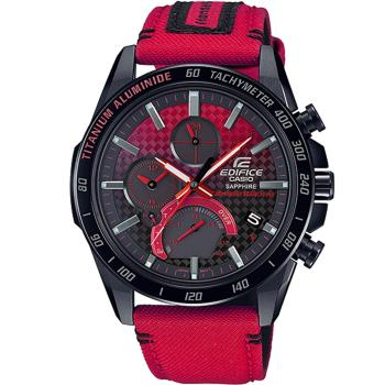 CASIO EDIFICExHONDA 限量聯名藍牙錶(EQB-1000HRS-1A)