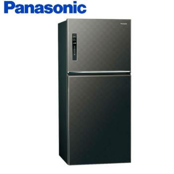 買就送雙面砧板+陶瓷刀★Panasonic國際牌650公升一級能效雙門變頻冰箱(星耀黑)NR-B659TV-A (庫)