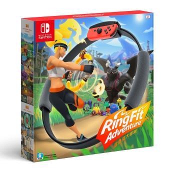 Nintendo Switch 健身環大冒險+專屬控制器Ring-Con(預購)