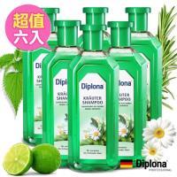 【德國Diplona】清新七大草本植萃洗髮精500ml(超值6入組)