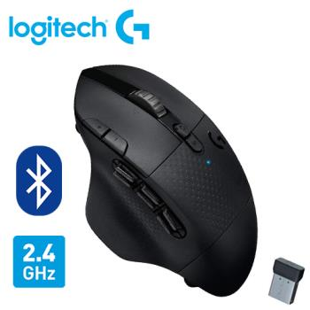 【Logitech 羅技】G604 LIGHTSPEED 無線電競滑鼠 【贈萬用柔濕巾20抽】