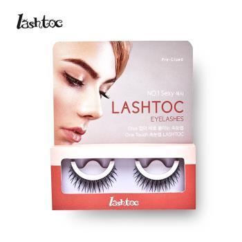 LASHTOC 韓國自黏式假睫毛-性感濃密型