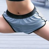 【EASY SHOP】RUN運動 運動型短褲(運動藍)