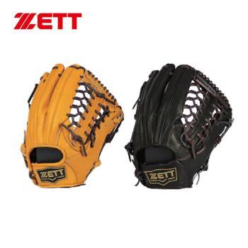 ZETT 36系列棒球全牛手套 12.5吋 外野手用 BPGT-3627