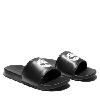 Timberland 中性黑色休閒涼拖鞋A24VP015