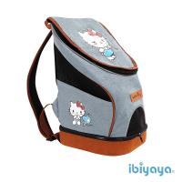 【IBIYAYA依比呀呀】HELLO KITTY 單寧瘋輕量寵物前/後背包 (FC1631-KT)
