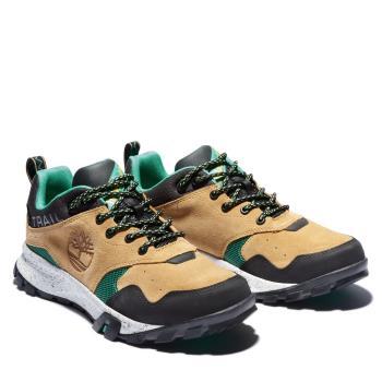 Timberland 男款小麥色拼接Garrison Trail休閒鞋A23G3X35