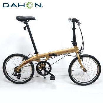 DAHON大行 VYBE D7 20吋7速鋁合金折疊單車-香檳金