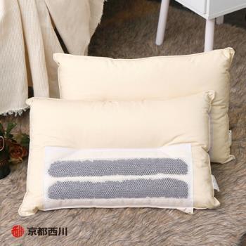 京都西川  日本製碳管釋壓枕  低反發慢回彈 記憶枕頭 (1入)