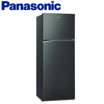 買就送雙面砧板+陶瓷刀★Panasonic國際牌485公升一級能效雙門變頻冰箱(星耀黑)NR-B480TV-A (庫)