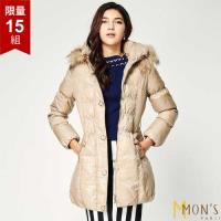 MONS 北歐芬蘭國際櫃皮草羽絨大衣