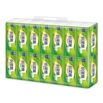 倍潔雅柔軟舒適抽取式衛生紙150抽14包6袋-箱