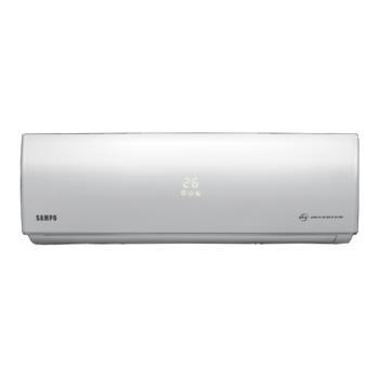 (含標準安裝)聲寶變頻分離式冷氣11坪精品型AU-SF72D/AM-SF72D