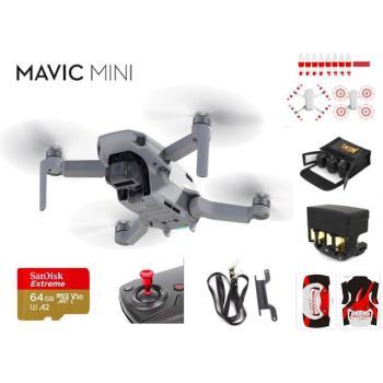 大疆 DJI MAVIC MINI 空拍機 暢飛套裝版 達人配件玩家套組 史上最輕 無人機 公司貨