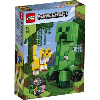 LEGO樂高積木 21156 Minecraft 系列 BigFig Creeper and Ocelot