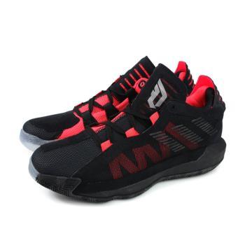 adidas DAME 6 GCA 籃球鞋 運動鞋 男鞋 黑/紅 EF9875 no789