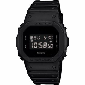 CASIO卡西歐G-SHOCK經典人氣電子錶DW-5600BB-1