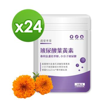 【達摩本草】玻尿酸游離型葉黃素《小分子玻尿酸、水潤明亮》x20包