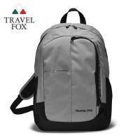 TRAVEL FOX 旅狐 休閒戶外極簡校園包 (TB706-13) 灰色
