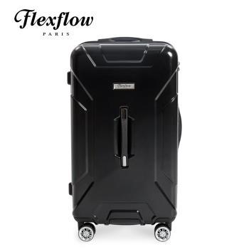 Flexflow 29吋 原色黑 胖胖箱 特務箱 智能測重 防爆拉鍊旅行箱 南特系列(官方直營)