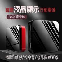 20000mAh 方形撞色大容量行動電源 雙USB行動電源 雙口快充 迷你小型
