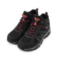 LOTTO SABRE MID 防潑水機能戶外鞋 黑 LT9AMO1250 男鞋 鞋全家福