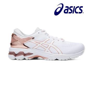 Asics 亞瑟士 GEL-KAYANO 26 PLATINUM 女慢跑鞋 1012A749-100