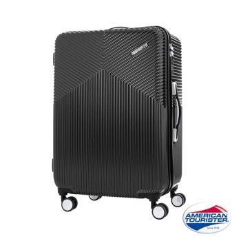 AT美國旅行者 29吋Air Ride 2/8開彈力滑輪PC硬殼行李箱(霧黑)-DL9*39003