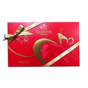 GODIVA 新年巧克力片裝禮盒 15片裝 80.3g