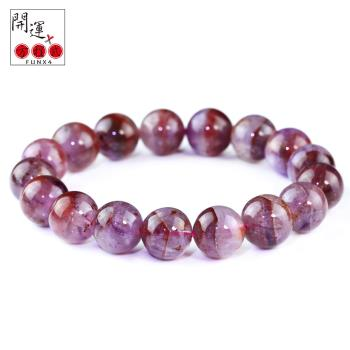 開運方程式-紫極光23水晶12mm手珠(加強運勢)