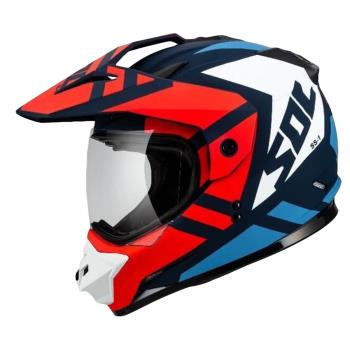 [SOL] SS-1 荒野 越野帽(安全帽/機車/內襯/鏡片/複合式安全帽/全可拆內襯/抗UV鏡片/GOGORO)