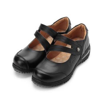 ZOBR 真皮氣墊娃娃鞋 黑 女鞋 鞋全家福