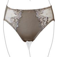 【EASY SHOP】熱情動感 高腰三角褲(可可棕)