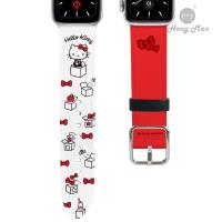 三麗鷗系列 Apple Watch 皮革錶帶 Hello Kitty 38/40mm