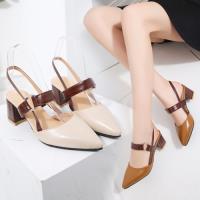 【Alice】(現貨+預購)時尚穿搭名媛必備款粗跟鞋