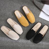 【Alice】(現貨+預購)輕柔樂活粉嫩平底拖鞋