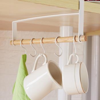 時尚工藝層板吊掛杯架 捲筒紙巾架