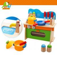 Playful Toys 頑玩具 木製廚房組 6610 (裝扮遊戲 家家酒玩具 木製仿真廚房遊戲組 兒童木質迷你廚房 經典木玩)