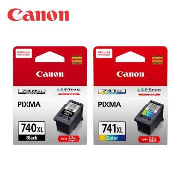 CANON PG-740XL+CL-741XL 原廠高容量墨水組 (1黑1彩)