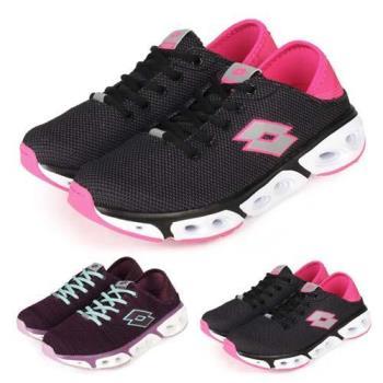 LOTTO 女緩震健走鞋-走路鞋 慢跑 健步鞋