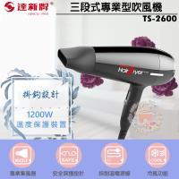 達新牌 三段式專業型吹風機 TS-2600