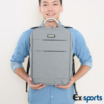 Ex-Sports亞克仕 3C平板包後背包牛津布-商旅包(贈飛狼包)